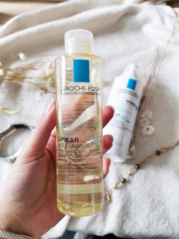 Huile lavante relipidante Lipikar AP+ - La Roche Posay - Astuces et conseils beauté - Mon peau de Crème