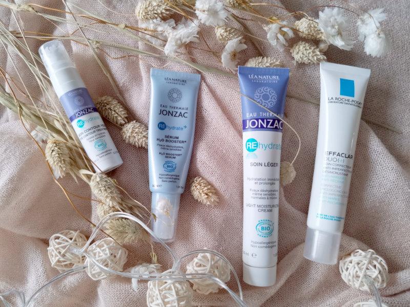 Mon peau de crème- Routine de soins acné hormonal - Conseils et astuces beauté