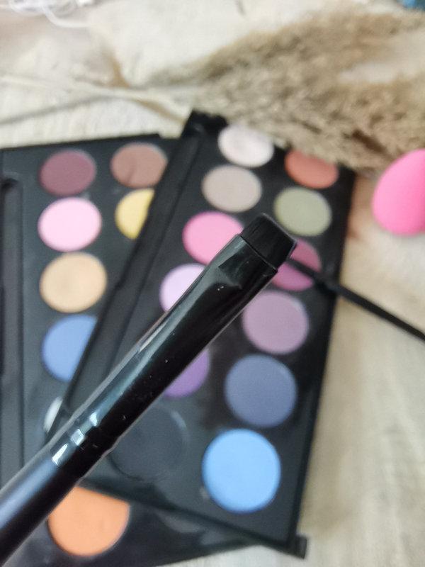 Pinceaux maquillage by passion beauté - Avis - pinceau eyeliner - Mon peau de crème