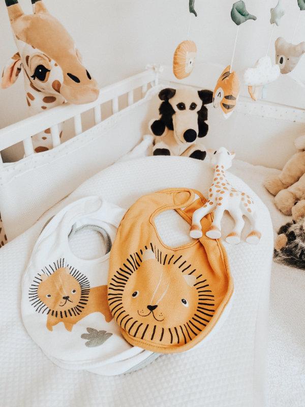 Bavoirs bébé pour la maternité - Mon peau de crème