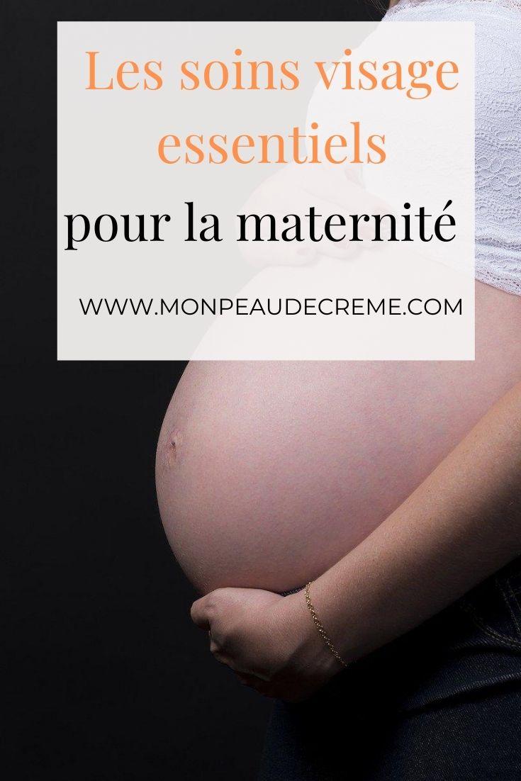 Les soins visage essentiels pour maman à la maternité - Mon peau de crème