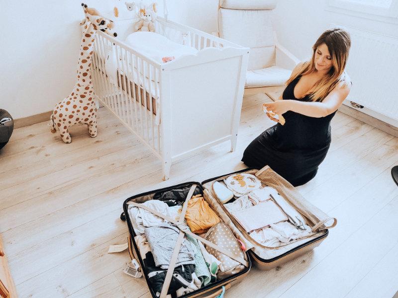 Ma valise pour la maternité - Liste - bébé et maman - Mon peau de crème