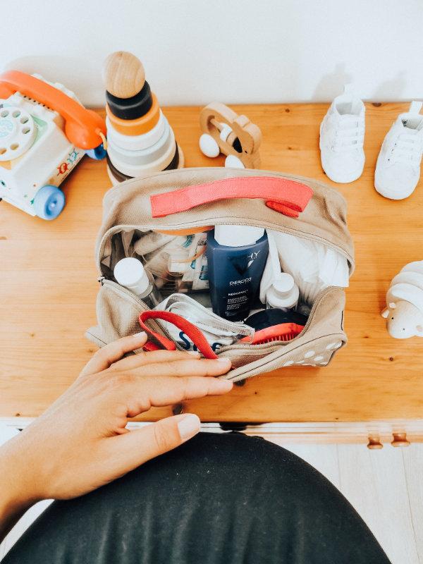 Trousse de toilette pour la maternité - Mon peau de crème