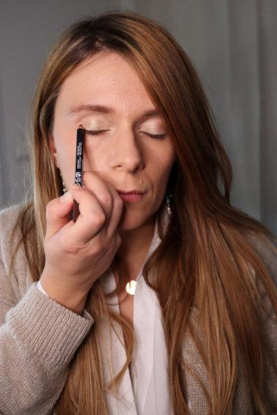 Crayon terre brulée - Avril - Maquillage débutant - Mon peau de crème Emonoé