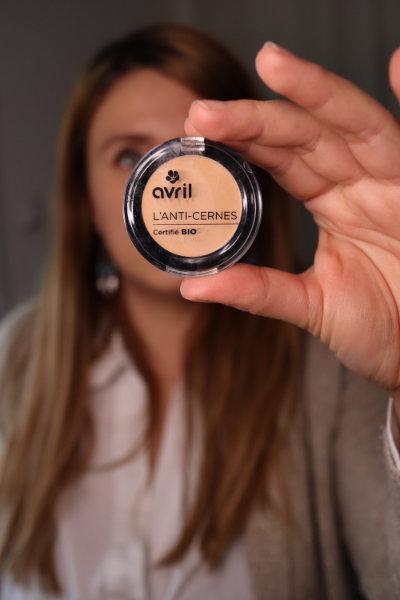 anticernes crème Avril - Maquillage débutant - Mon peau de crème Emonoé