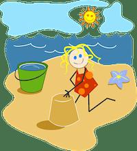enfant et plage