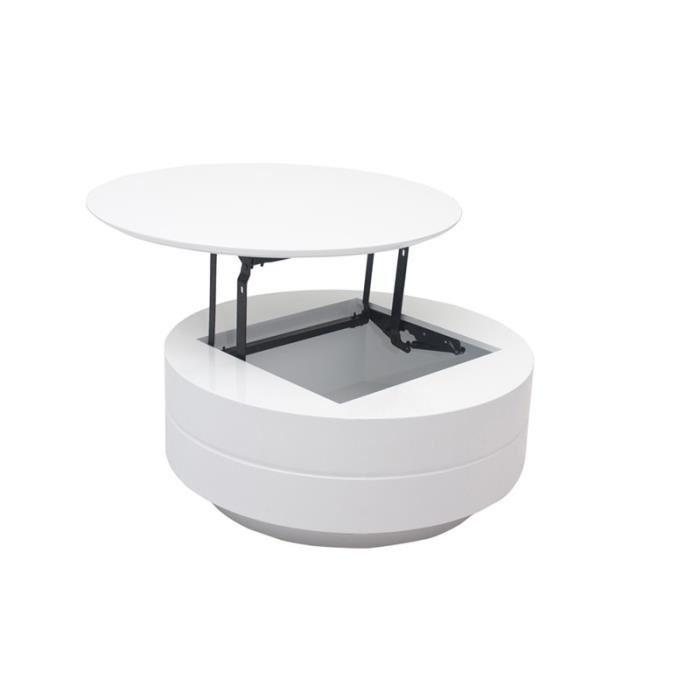 table basse bilbao plateau relevable