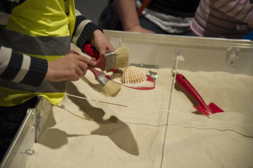 Fouilles archéologiques pour enfants à Bordeaux