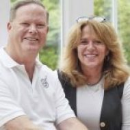Brian Dailey and Allyn Evans