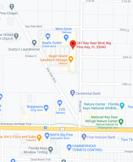 map to key west driver license office