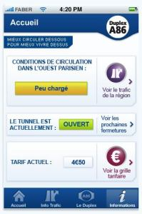 application iphone duplex A86