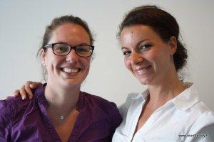Kathy et Emilie: Rallye des GazellesSaclay