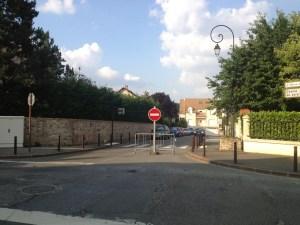 rue de Villeras a Saclay