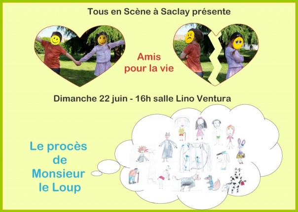afiche spectacle Enfants
