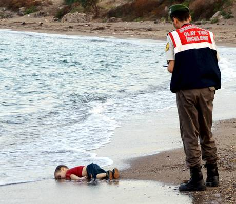 A photo of Aylan Kurdi lying drowned on a Turkish beach has ignited anger at the UK's response to the refugee crisis