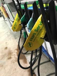Pénurie de gasoil essence