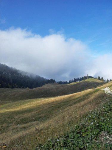 Montagne du Charbon - La Combe
