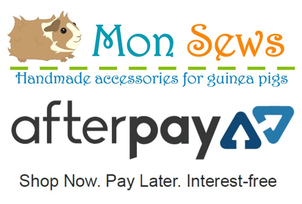 Mon sews now has Afterpay