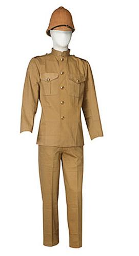 reproduction-uniforme khaki armee britanique