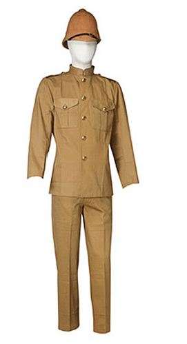 reproduction-uniforme khaki armee britanique
