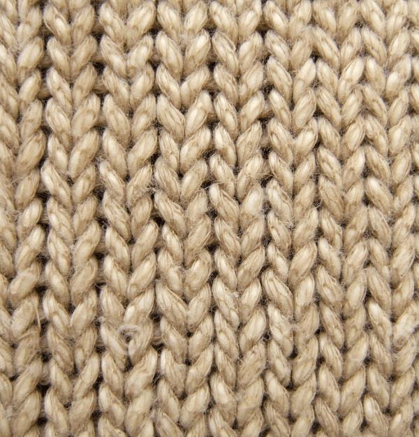 fibre laine gros plan