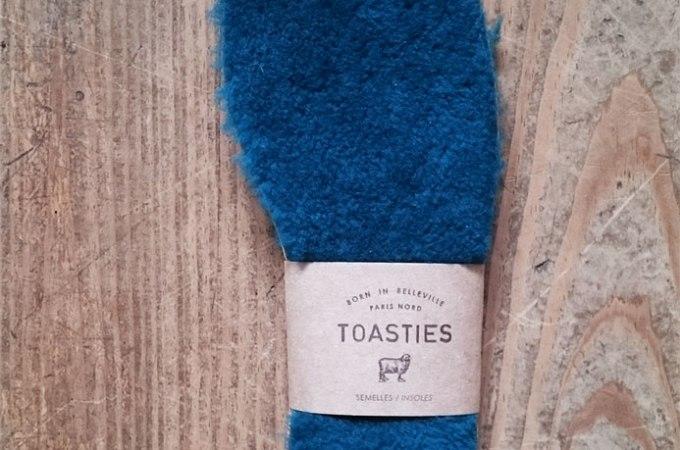 Test des semelles en laine Toasties