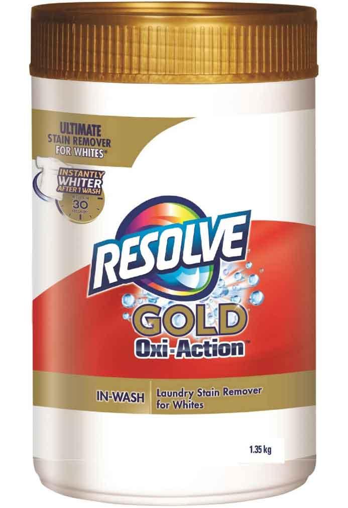 détachant lessive blanc resolve gold