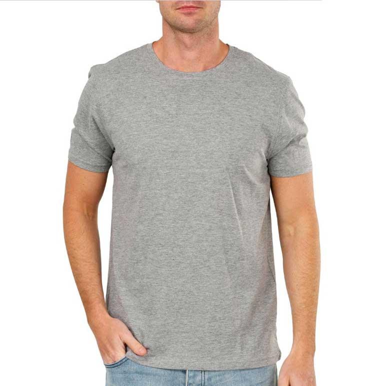 homme avec t shirt gris