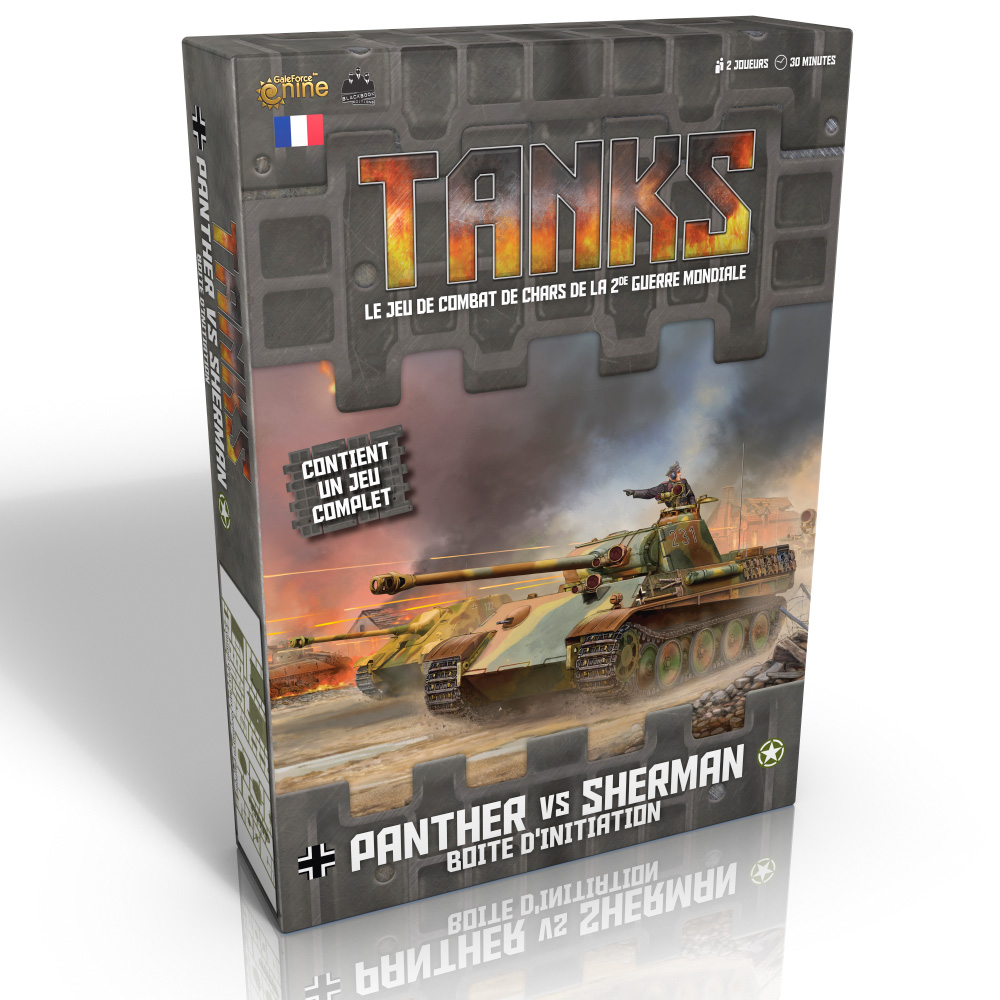 TANKS, Panther VS Sherman - La boîte d'initiation