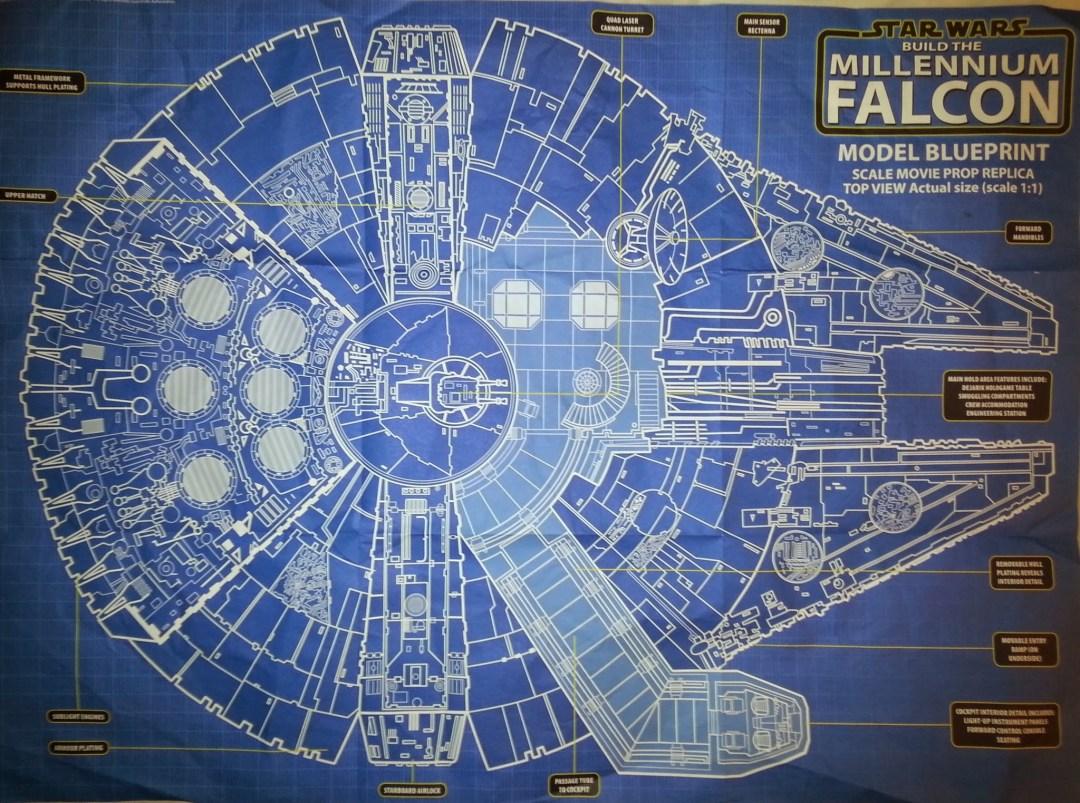 Plans du Faucon Millenium