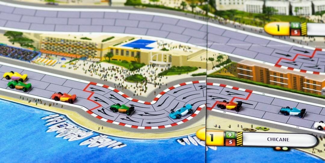 """Les voitures proposées dans la boîte de """"Formula D"""""""