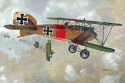 Albatros D.III VS Airco DH.2