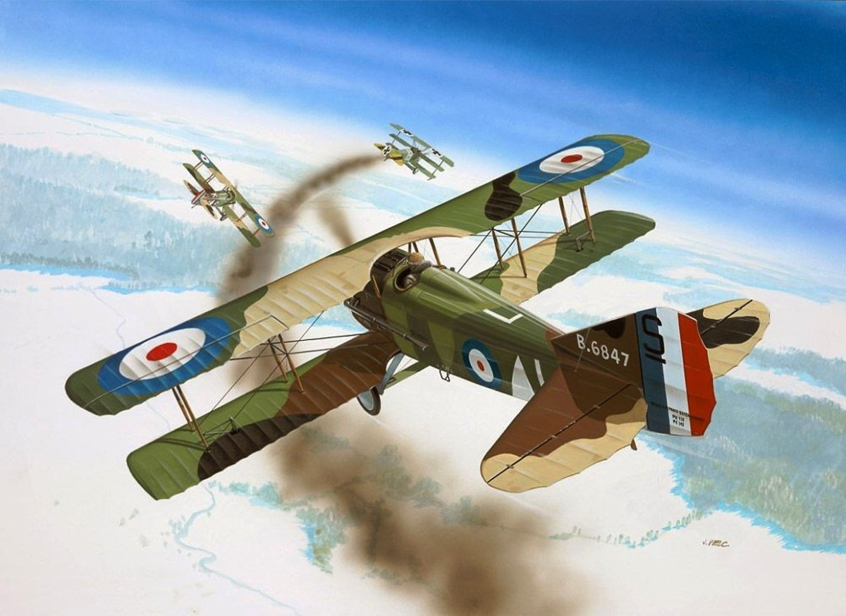Spad XIII VS Fokker Dr.I