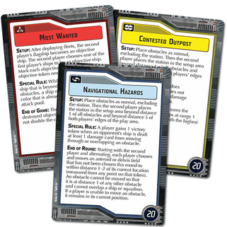 Star Wars Armada - Cartes d'objectifs