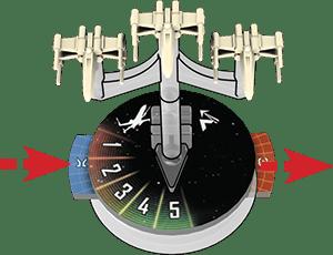 Star Wars Armada - Glissière d'activation
