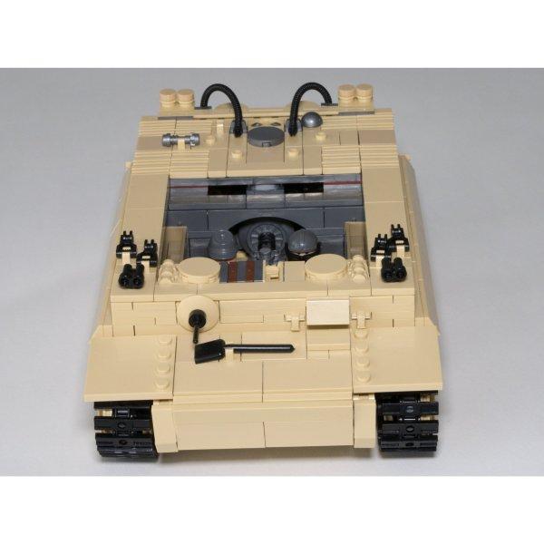 Tank allemand - Tiger I - 995 pièces