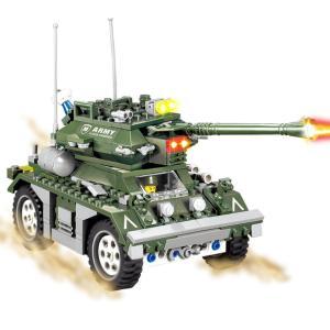 Tank sur roues - 351 pièces