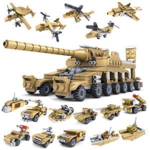 Kit de véhicules 16 en 1 - super Tank !