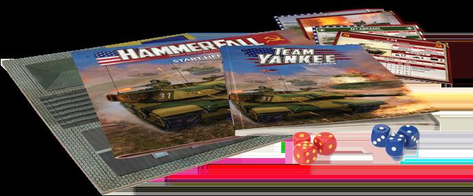 Hammerfall - contenu de la boîte