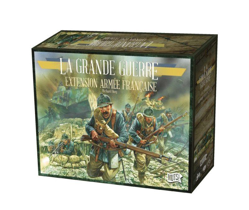 La Grande Guerre – Ouvertures de boîtes de l'extension Armée Française