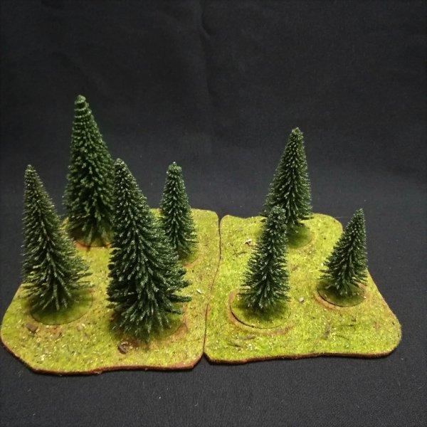 Forêt modulable 7 arbres