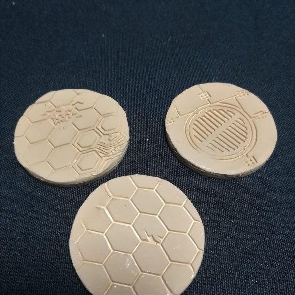 Socles texturés industriels type C