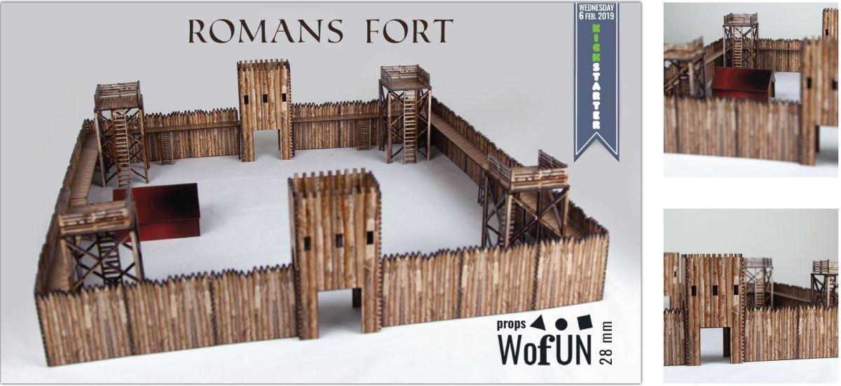 Fort romain