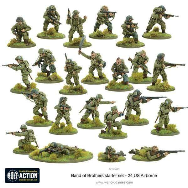 "Bolt Action 2 Starter Set ""Band of Brothers"" VF"