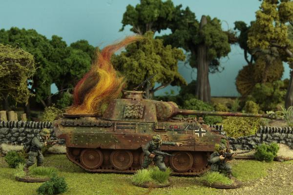 Tank Damage Markers