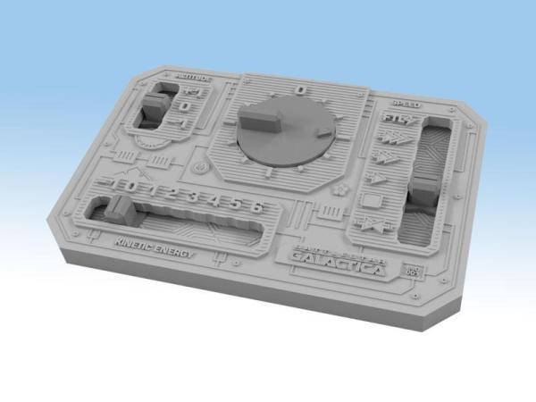 Battlestar Galactica: Starship Battles - Boîte de démarrage