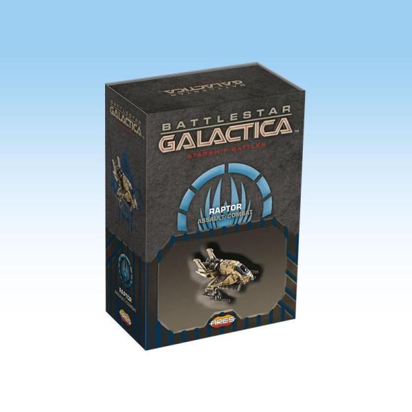 Battlestar Galactica Starship Battles - Spaceship Pack: Raptor (Assaut/Combat)
