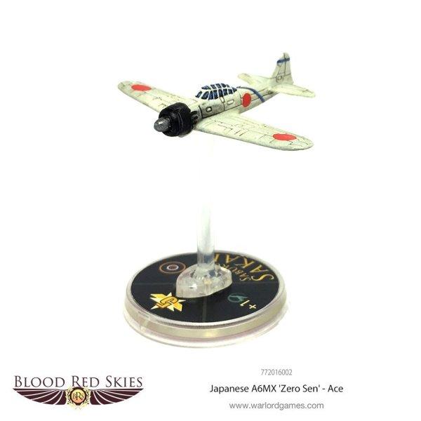 Blood Red Skies - Japanese A6MX 'Zero-Sen' Ace - Saburō Sakai