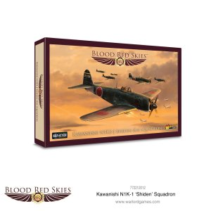 Blood Red Skies - Kawanishi N1K-1 'Shiden' Squadron