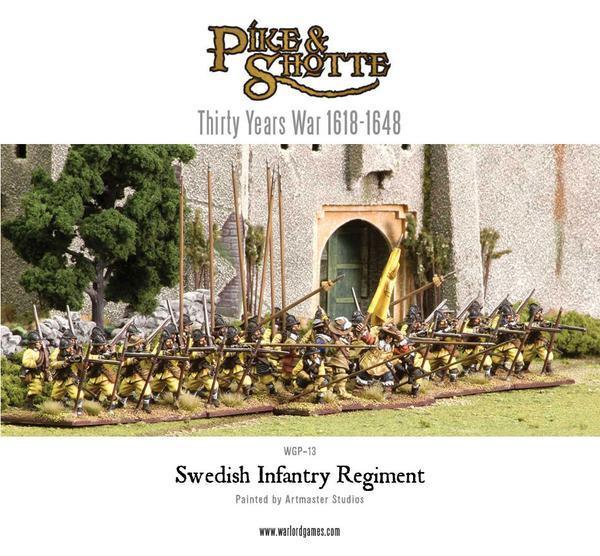 Pike & Shotte - Swedish Starter Army